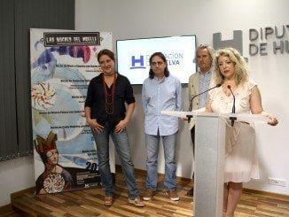 María Clauss, Antonio Dovao y Lourdes Garrido en la presentación de la programación