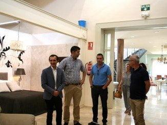 Los empresarios del Mueble de Valverde que han sido galardonados