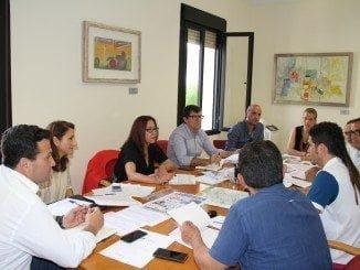 En esta reunión de coordinación se han tratado aspectos como el rutómetro provincial