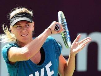 La tenista rusa es ganadora de cinco títulos del Grand Slam