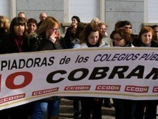 Las trabajadoras de EMLICODEMSA ya protagonizaron protestas en 2013