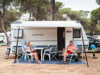 El camping, uno de los establecimientos hoteleros elegidos por el contacto pleno con la naturaleza