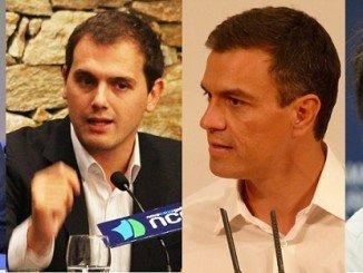 Los cuatro candidatos se verán las caras mañana