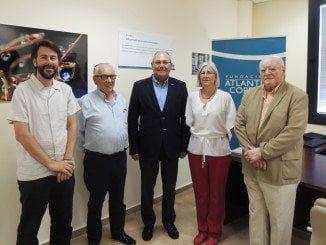 Antonio de la Vega, Juan Vázquez, Diego de la Villa y Víctor Rodríguez Maldonado