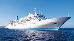 El buque Thomson Spirit navega rumbo al Puerto de Huelva, donde atracará mañana sábado