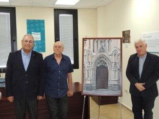 El pintor Aramburu ha donado dos de sus obras a Atlantic Copper por su implicación con Huelva