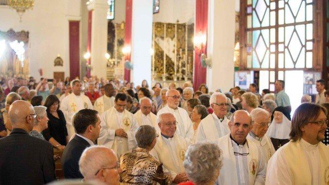 Misa conmemorativa del Centenario de los Paules