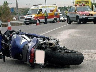 Retrospectiva de un accidente de moto
