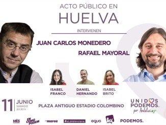 Cartel anunciador del acto electoral