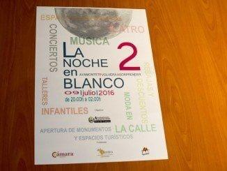 Cartel anunciador de la II Noche en Blanco en Ayamonte