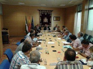 Reunión de  representantes de la flota de cerco de Barbate, Sanlúcar, Punta Umbría e Isla Cristina, con el ministro del ramo