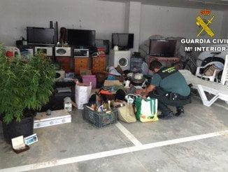 Del total de robos esclarecidos, 91 serían en viviendas y 2 en chiringuitos de la zona
