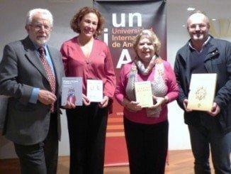 """Fotografía retrospectiva de la presentación del libro """"Juan Mairena"""" el año pasado en la UNIA"""