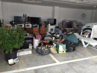 Se realizaron ocho registros domiciliarios en Matalascañas, Almonte y El Rocío