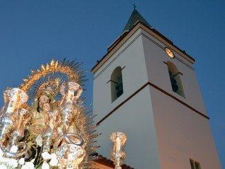La Virgen del Carmen procesionó por San Juan del Puerto