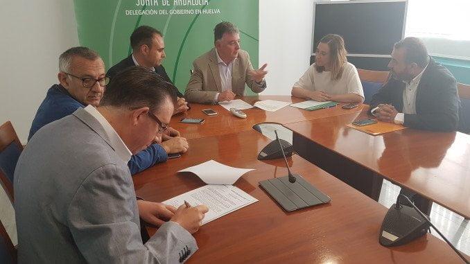 Reunión para determinar las ayudas a los Grupos de Desarrollo Rural