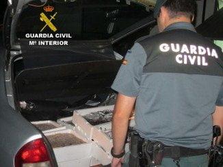 La Guardia Civil interviene pescado inmaduro y moluscos que además transportaban sin refrigeración