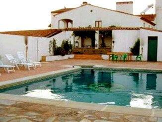 Una casa rural en la provincia de Huelva