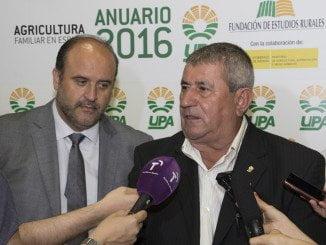 El secretario general de UPA, Lorenzo Ramos, ha hecho balance del curso agrario