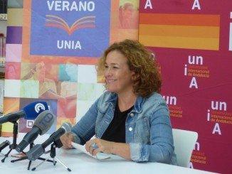 Yolanda Pelayo ha hecho balance de los Cursos de Verano de la UNIA que concluyen con un incremento de alumnado del 32%