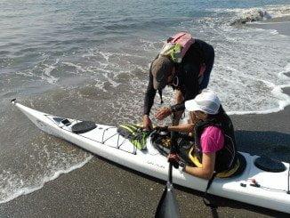 """El proyecto solidatrio """"Andaucía 7 Desafíos"""", en esta ocasión en Kayak"""