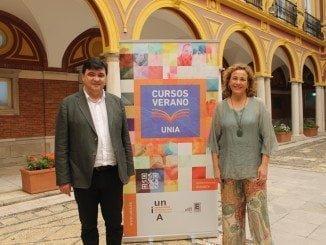 El alcalde de Huelva, Gabriel Cruz, ha dejado de manifiesto la apuesta del Consistorio por la UNIA