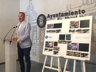 El concejal de Urbanismo e Infraestructura ha anunciado el inicio de las obras de las áreas caninas