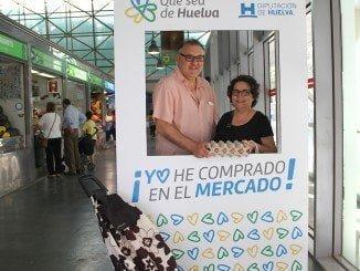 Retrospectiva de una acción promocional en el mercado de Huelva