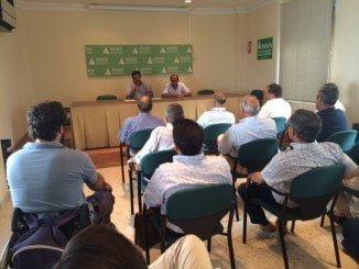 Reunión del Grupo de Ganaderos en Asaja, preocupados por los casos de tuberculosis bovina