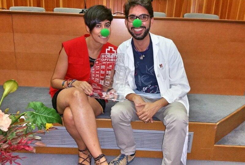 Algunos de los integrantes de este maravilloso proyecto de Cruz Roja y el Hospital Juan Ramón Jiménez
