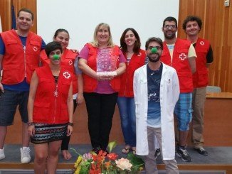 El Aula Hospitalaria celebra el Premio concedido a Cruz Roja