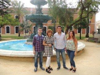 Los becados han comenzado y a hacer prácticas en el Ayuntamiento de Huelva