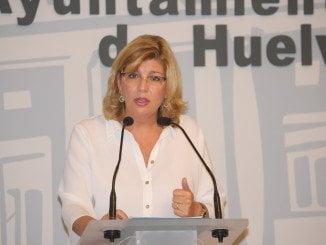 Berta Centeno, portavoz del Grupo Popular en el Ayuntamiento de Huelva