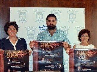 Presentan los carteles del nuevo ciclo de Teatro de Otoño de Cartaya