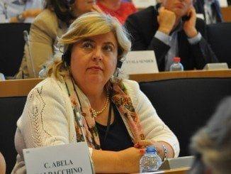 La eurodiputada y vicepresidenta de la Comisión de Agricultura del Parlamento Europeo, Clara Aguilera
