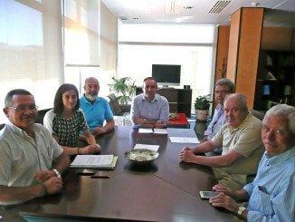 Reunión del Consejo Sectorial del Vino con el delegado de Agricultura en Huelva