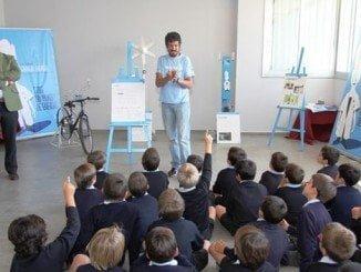 Imagen retrospectiva de uno de los talleres de Endesa Educa