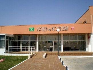 Unas obras retrasarán la apertura de matriculación y curso en la Escuela de Hostelería de Islantilla