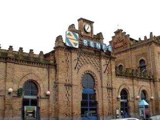 El complejo ferroviario de Huelva se inauguró el 15 de marzo de 1880
