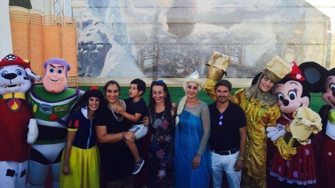 Algunos de los personajes del festival que recorre toda España