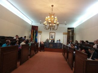 Sesión plenaria de la Diputación