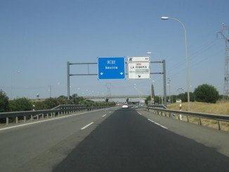 La colisión se ha producido en la H-31, sentido Huelva