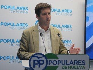 Longoria dice que Huelva sufrirá un nuevo parón al paralizarse 27 obras que estaban previstas