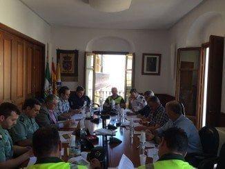 Reunión de la Junta de Seguridad para preparar el Plan Romero de Clarines 2016