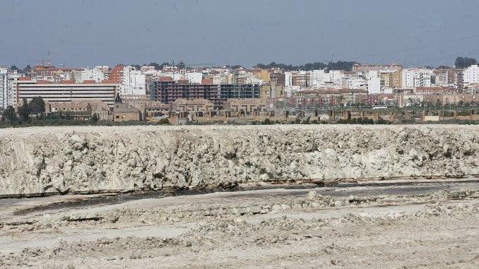 Balsas de fosfoyesos en Huelva