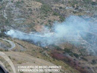 El fuego se ha producido sobre las 18.45 horas