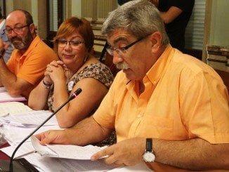 El concejal de IU en el Consistorio onubense, Juan Manuel Arazola