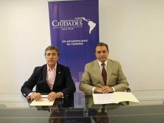 Tomás Vera, presidente de la Fundación y  Juan Tirado, presidente de ANCCE
