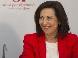 Margarita Robles fue la número dos de la lista del PSOE que Pedro Sánchez encabezó por Madrid