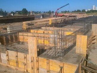 Obras en Las Metas para la construcción de la estación del AVE